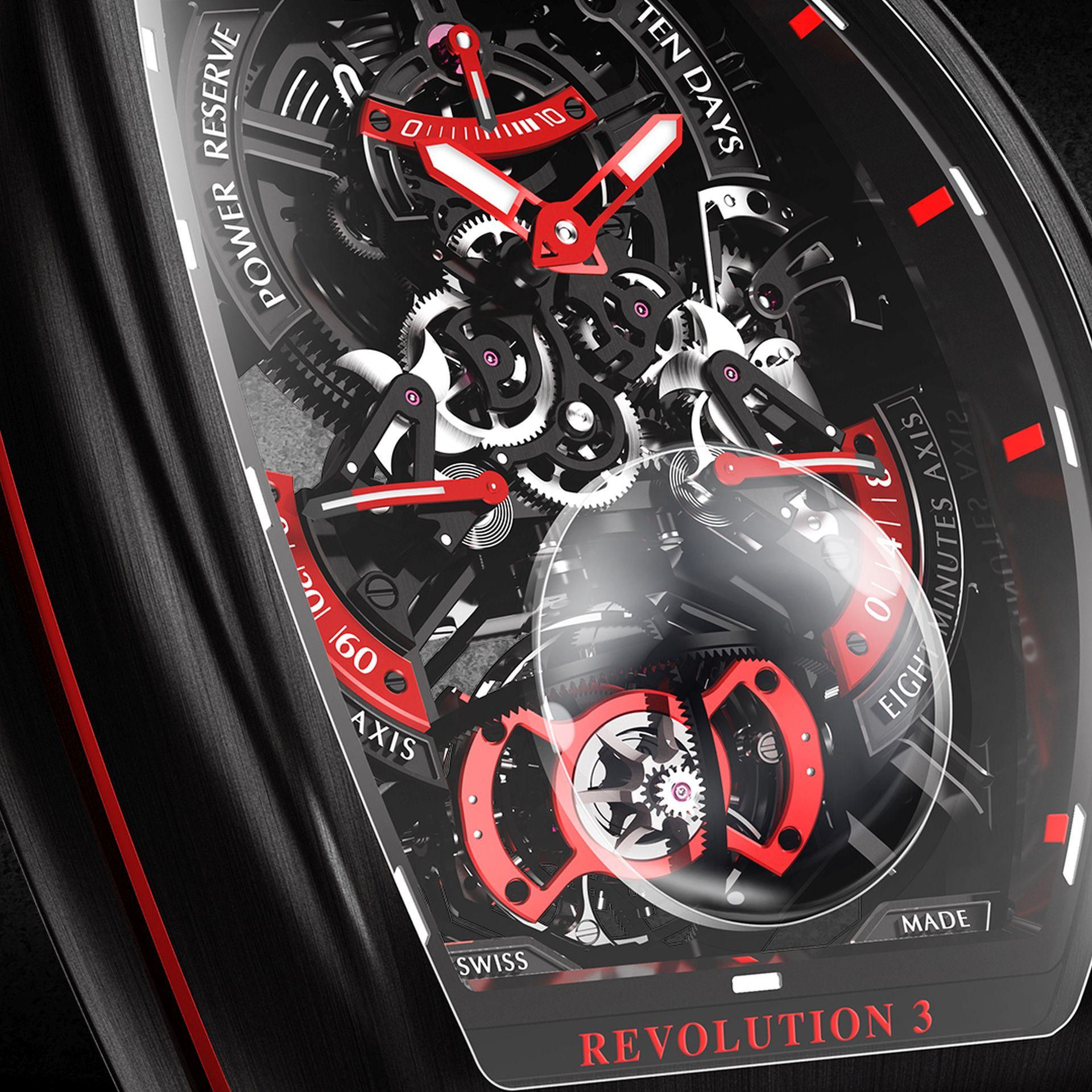 Franck Muller Vanguard™ Revolution 3 Skeleton