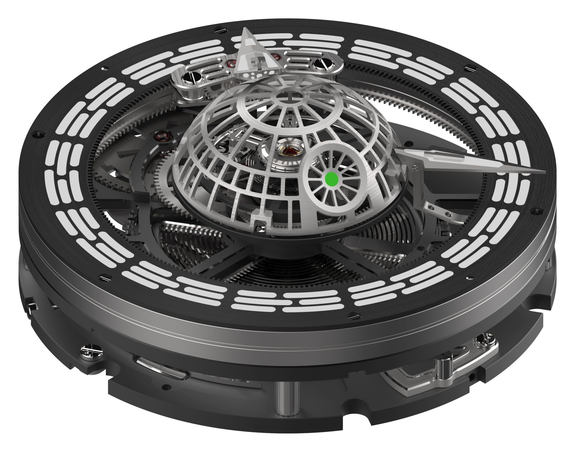 Kross Studio Death Star Tourbillon