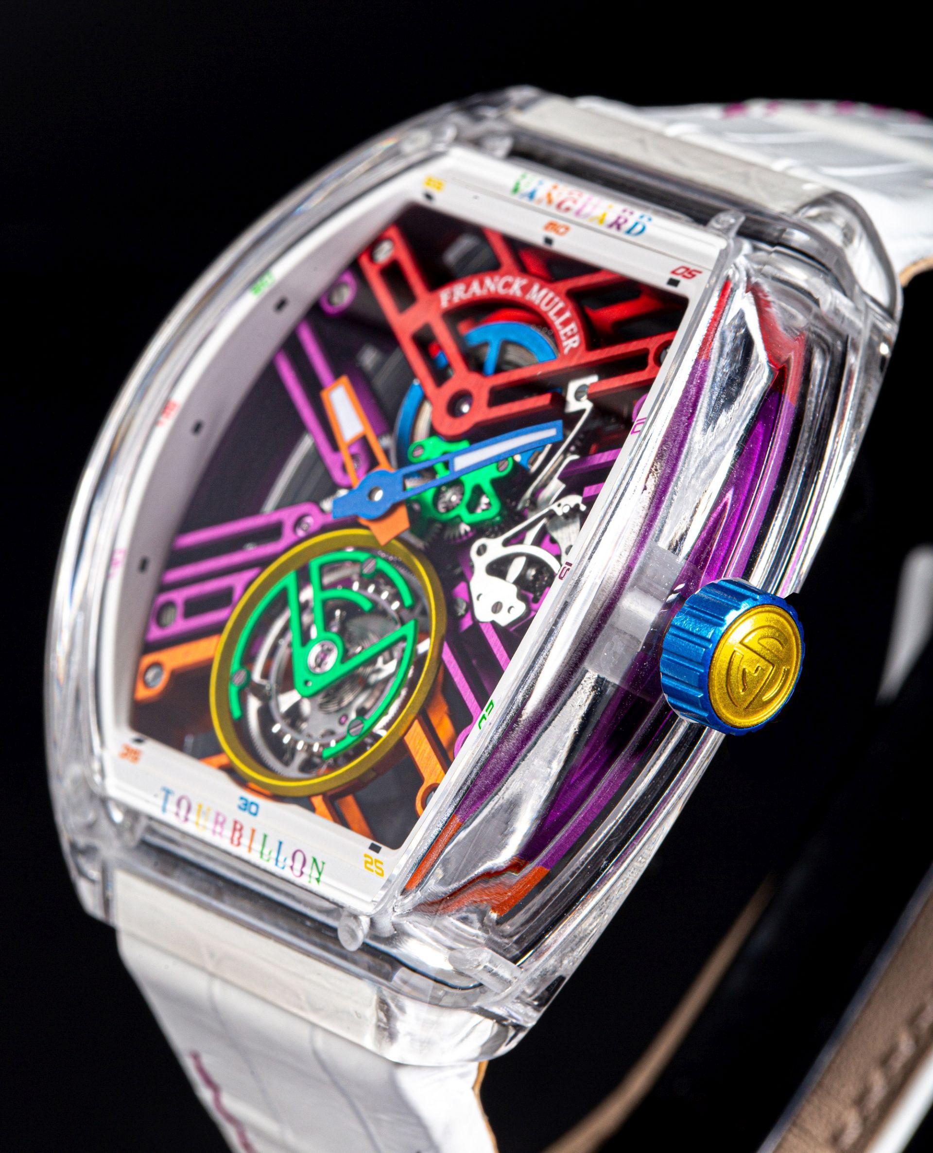 Franck Muller Vanguard™ Skeleton Sapphire 'Color Dreams'